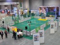 Sport auf multifunktionalen Sportboden