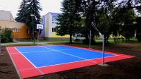 Kleinspielfeld Basketball Sportfeld Bergo Sportboden